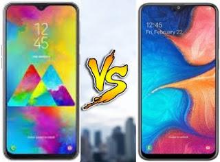 Samsung Galaxy A20 VS Galaxy M20