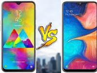 Detail Perbandingan Samsung Galaxy A20 VS Galaxy M20 - Wajib Baca Sebelum Membeli