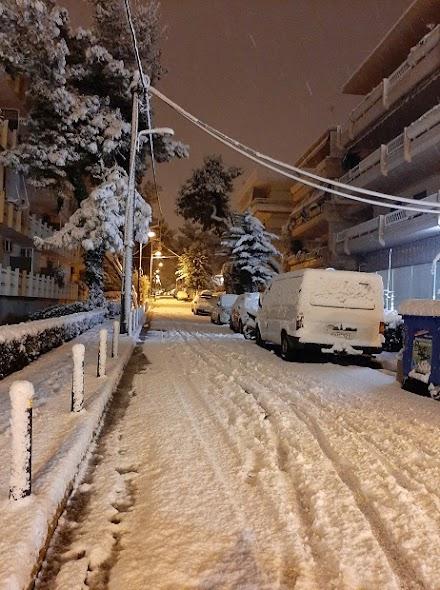 AEGEAN SNOW EFFECT : Η Μήδεια στην πρωτεύουσα της χώρας