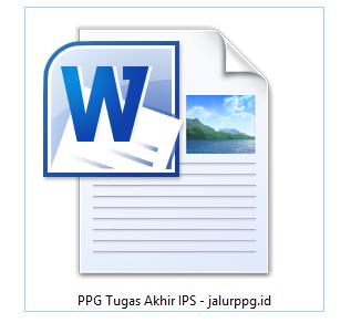 PPG Tugas Akhir IPS - JALURPPG.ID