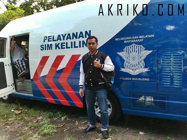 Pelayanan SIM Keliling di Singaraja Bali