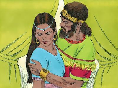 o código da Bíblia - Davi abraça a tentação.