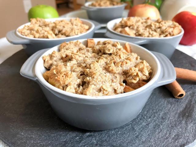 Gluten Free Vegan Apple Crumble