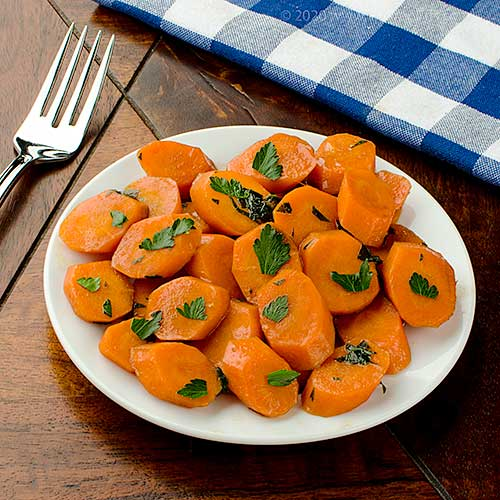 Glazed Carrots with Guinness