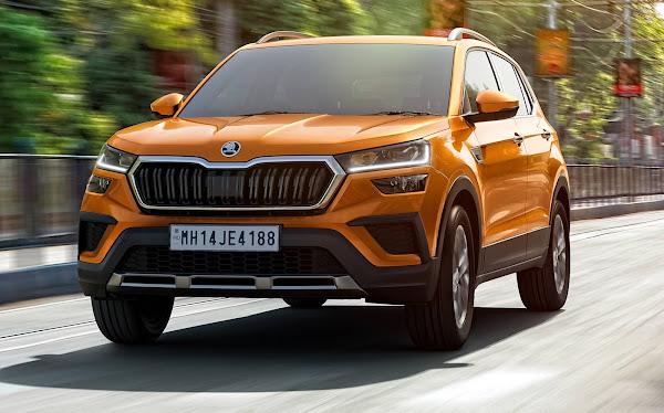 Skoda Kushaq: novo SUV compacto do Grupo VW estreia na Índia