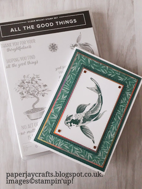 all the good things stampin Up