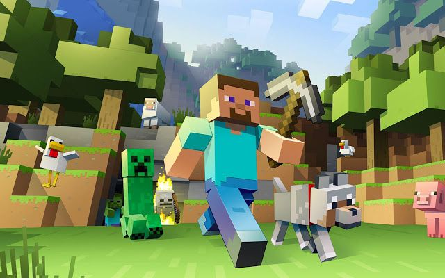 Minecraft – Pocket Edition 1.14.0.2  Mod APK - Game xây dựng hay trên android