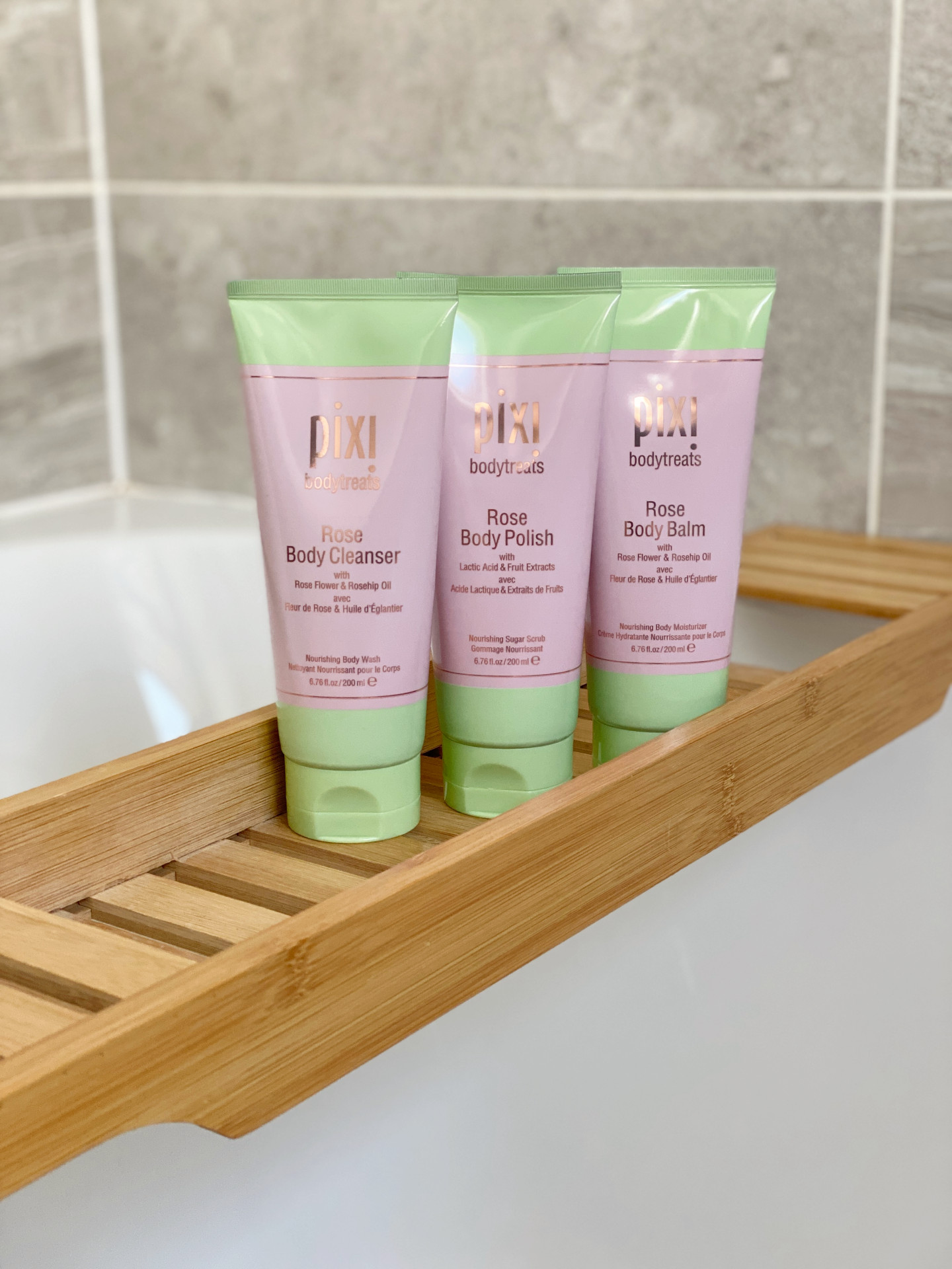 pixi beauty rose bodytreats review