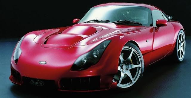 TVR Sagaris 2000s British sports car