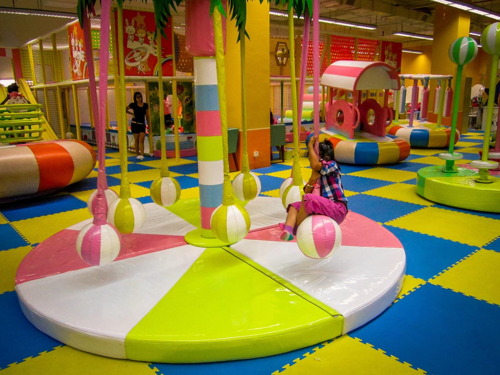 Indoor Children Playground: Kids Entertainment