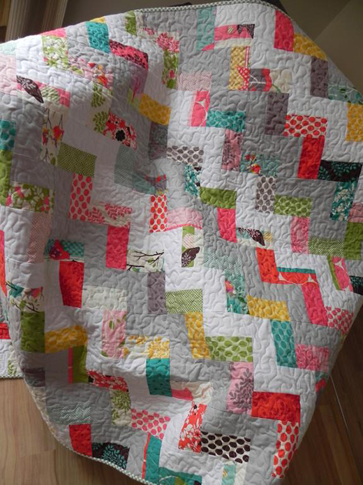 Step in Time Quilt Free Tutorial designed by Anorina of Samelias Mum