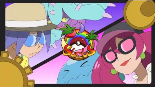 Pokemon Sol y Luna Capitulo 131 Temporada 20 Musashi Vs Kojiro, Un campo de batalla de la verdad y el amor