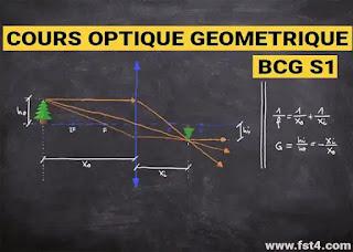 cours optique géométrique bcg s1 pdf