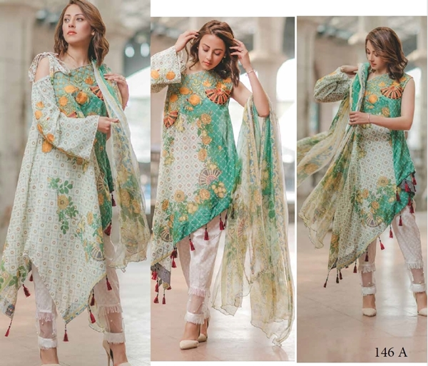 Rang Rasiya Cornation Luxury Lawn 2017 With Prices