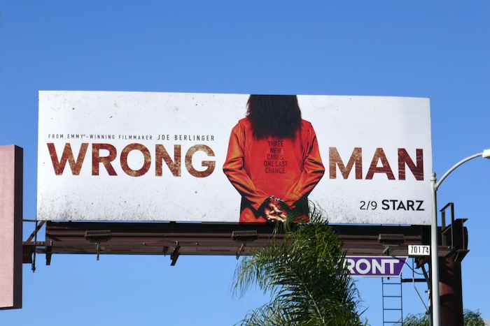 Wrong Man season 2 billboard