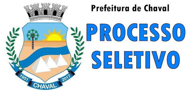 Processo Seletivo Chaval 2020