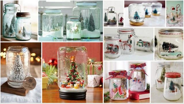 Πως θα φτιάξετε Χριστουγεννιάτικες Χιονόμπαλες