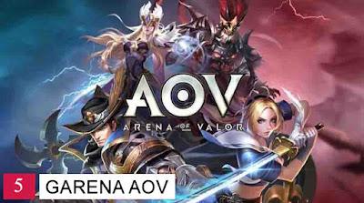 AOV game MOBA terpopuler di Indonesia