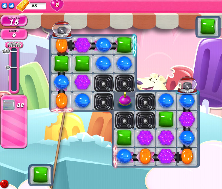 Candy Crush Saga level 2464