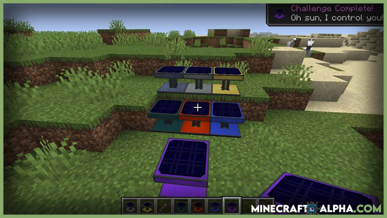 Minecraft Solar Generation Mod 1.17.1 (Produce FE from the Sun)