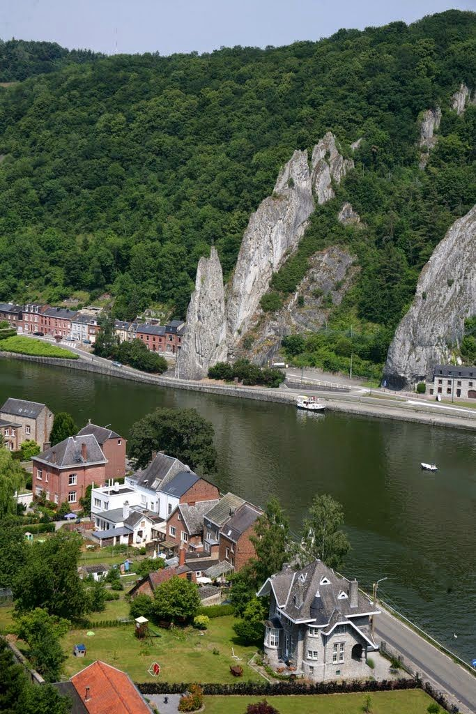 10 Best Places to Holiday in Belgium (100+ Photos) | Rocher Bayard, Dinant, Namur
