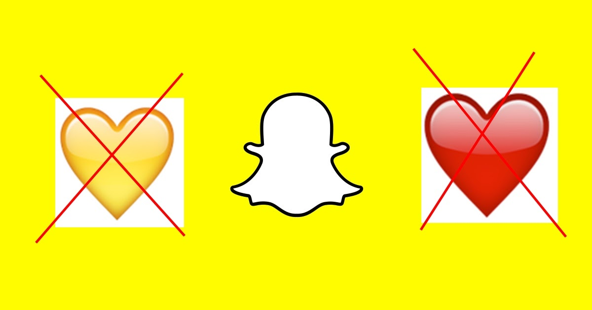 Why Do Yellow Heart Emoji Disappeared on Snapchat? or the ... Yellow Heart Emoji