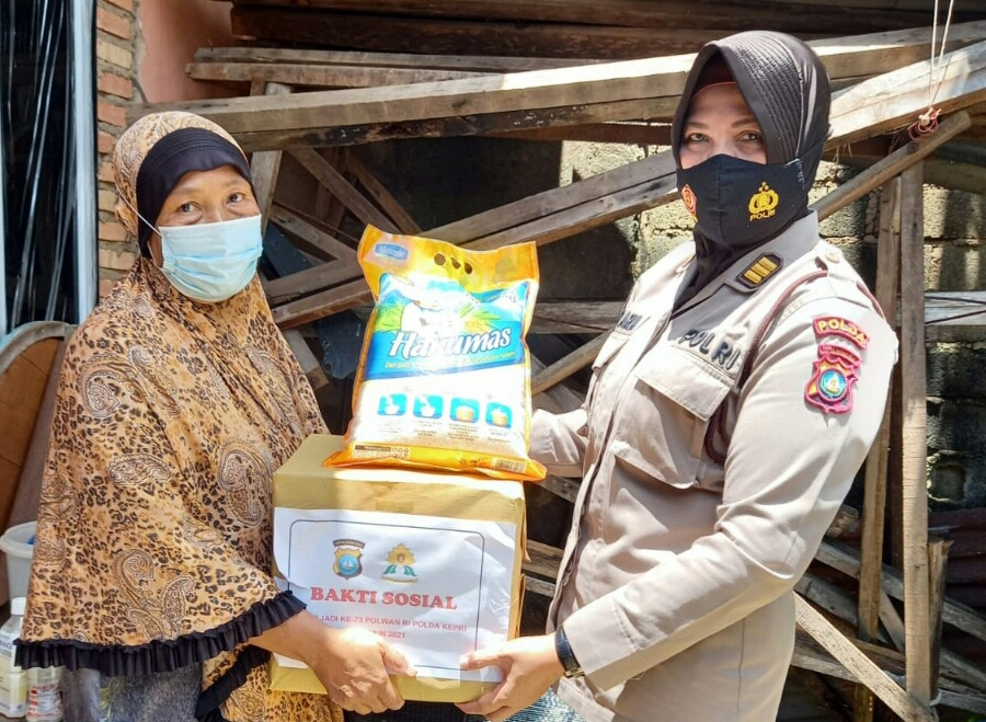 Sambut Hari Jadi HUT Polwan RI Ke-73, Rangkaian Kegiatan Dilaksanakan Polda Kepri