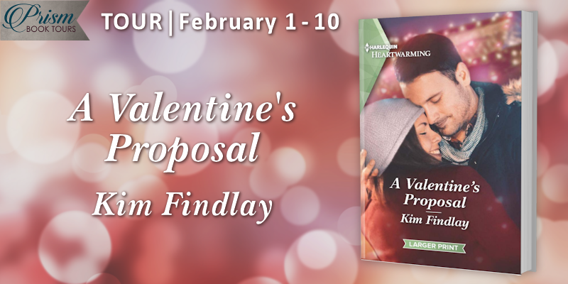 We're launching the Book Tour for A VALENTINE'S PROPOSAL by Kim Findlay!