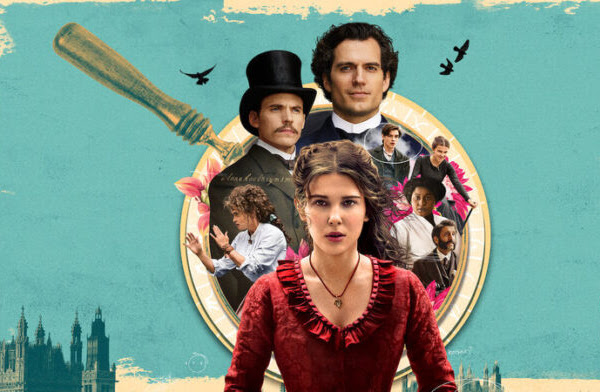 Uma palhinha sobre Enola Holmes! O filme é realmente uma graça!