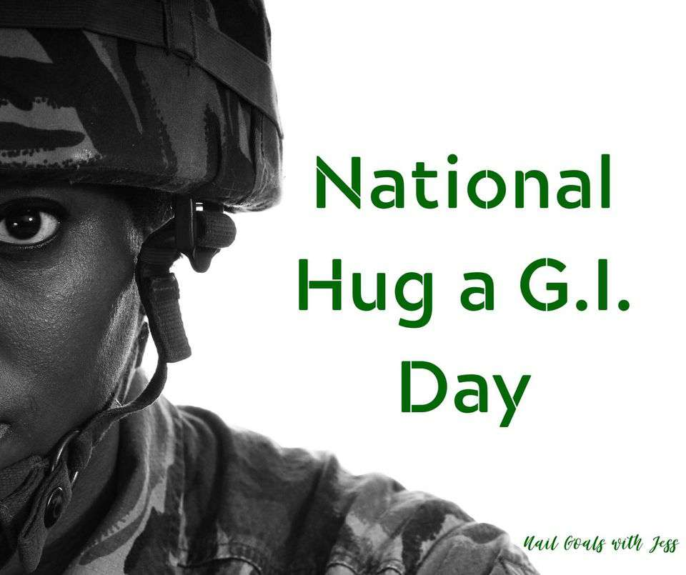 National Hug a G.I. Day Wishes Images download