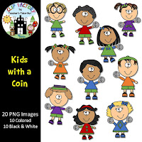 Kids with a Coin