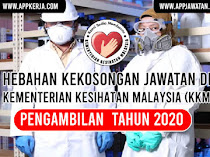 Jawatan Kosong di Kementerian Kesihatan Malaysia (KKM)