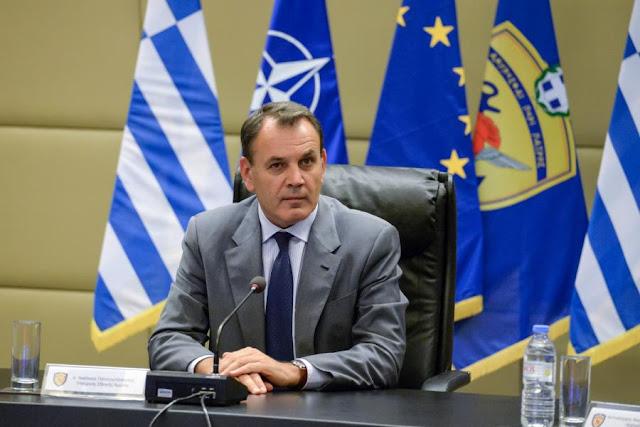 Αποτέλεσμα εικόνας για Ν. Παναγιωτόπουλος: Θα διασφαλίσουμε διά της αποτρεπτικής ισχύος των Ενόπλων Δυνάμεών μας ότι η πατρίδα είναι ασφαλής