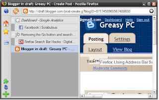 Greasy PC: Firefox: Using Address Bar Searches? Ditch The Search Bar