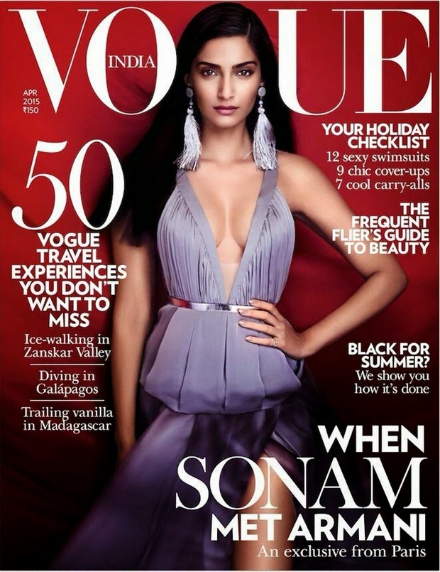 Sonam Kapoor latest photoshoot for Vogue Photos