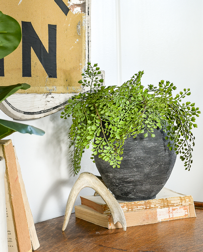 How to make a faux clay pot