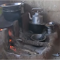The pollution cause by the convetional stove