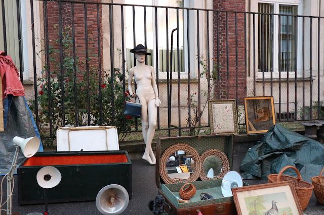 Mannequin , brocante Amiens / Photo Atelier rue verte /