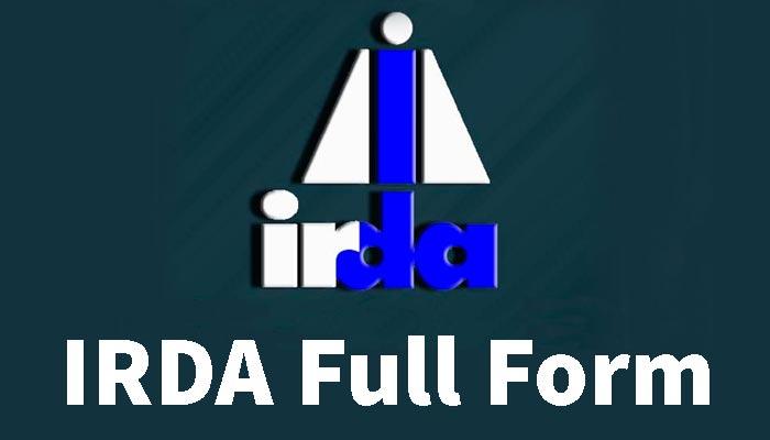 IRDA ka full form in hindi