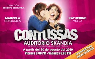 CONTUSSAS 2019 con Katherine Vélez y Marcela Benjumea