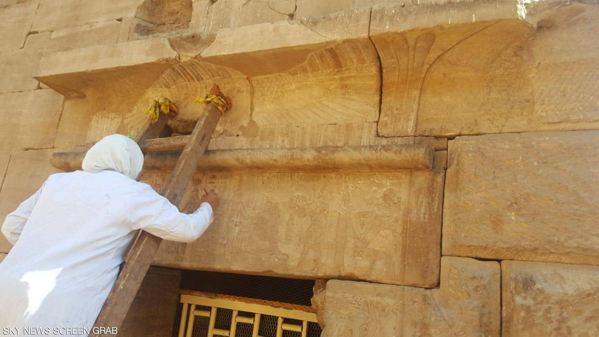 """In pictures, the opening of the """"Isis"""" temple, 150 years after its discovery"""