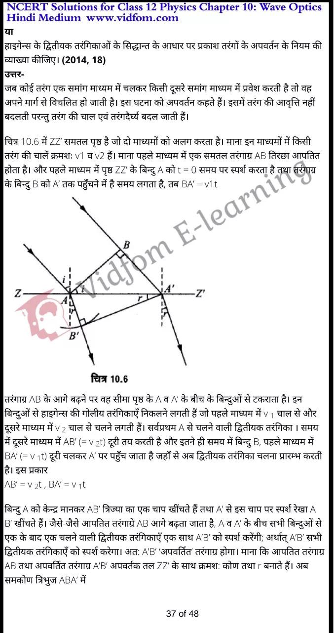 class 12 physics chapter 10 light hindi medium 37