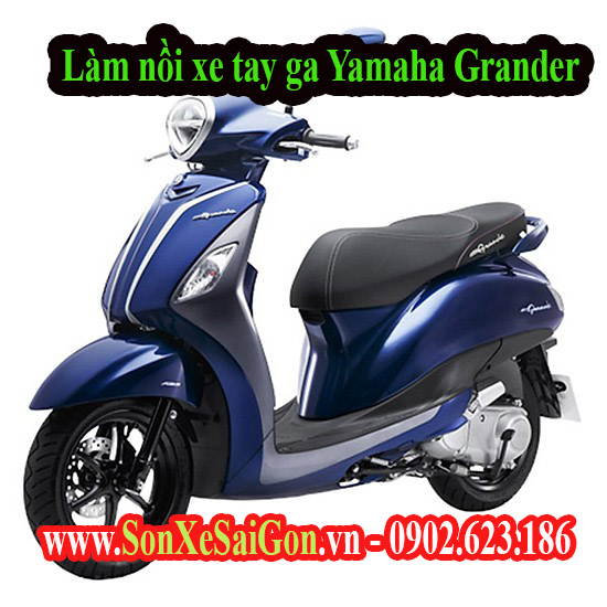 Làm nồi xe tay ga Yamaha Grander chạy mạnh