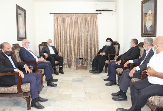 Hamas và Hezbollah gặp nhau để thảo luận về chiến lược chống lại Israel