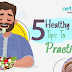 5 Successful Healthy Eating Habits To Practice #infographic