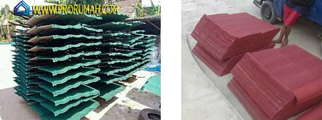 supplier genteng metal pasir