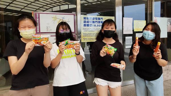 斯莉甘蒂舞蹈團送愛明道大學 印尼食物分享穆斯林學生