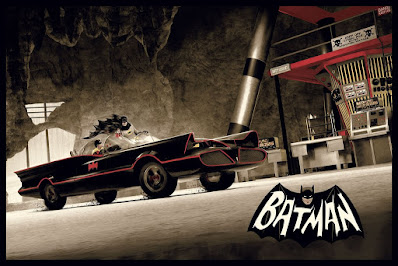 Batman '66 Screen Print by Matt Ferguson x Bottlenck Gallery