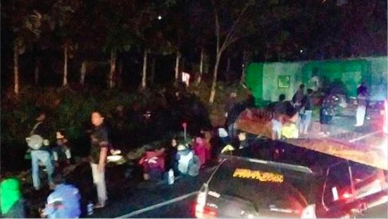 Kecelakaan Beruntun di Tol Cipali, 12 Orang Meninggal Dunia dan 43 Lainnya Luka-Luka