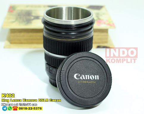 Mug Lensa Kamera DSLR Canon